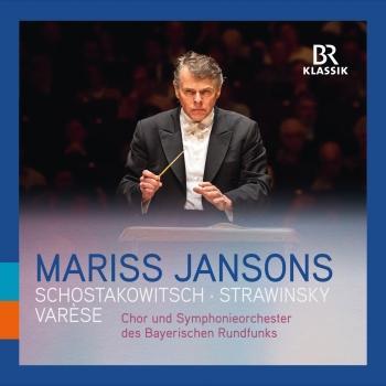 Cover Varèse: Amériques - Stravinsky: Symphony of Psalms - Shostakovich: Symphony No. 6 (Live)
