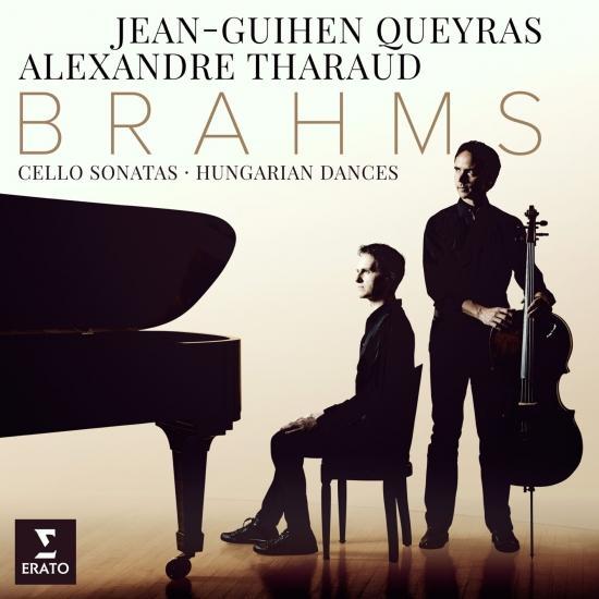 Cover Brahms: Cello Sonatas Nos 1 , 2 & 6 Hungarian Dances