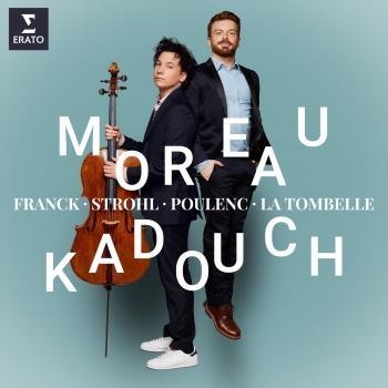 Cover Franck, Poulenc & Strohl: Cello Sonatas