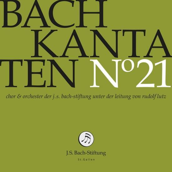 Cover Bach: Cantatas, Vol. 21