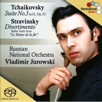 Cover Tchaikovsky: Suite No. 3 in G Major / Stravinsky: Divertimento