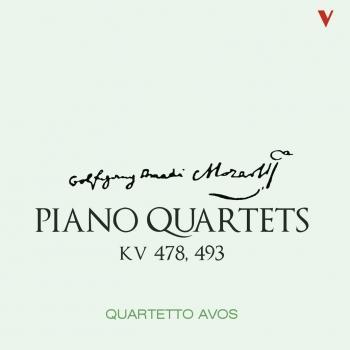 Cover Mozart: Piano Quartets, K. 478 & 493