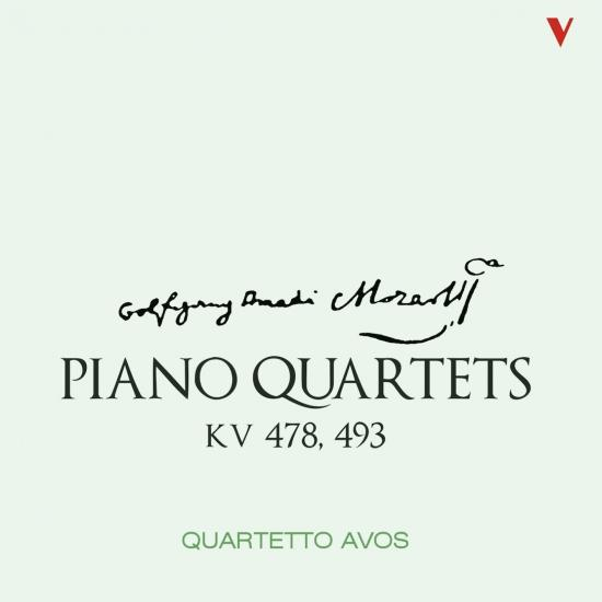 Cover Mozart: Piano Quartets, K. 478 & 493