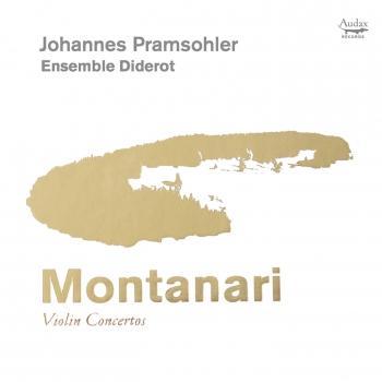 Cover Montanari: Violin Concertos