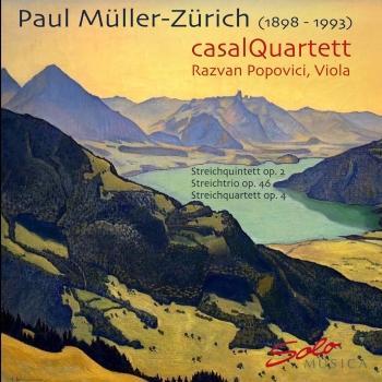 Cover Paul Müller-Zürich: Streichquintett, Streichquartett, Streichtrio