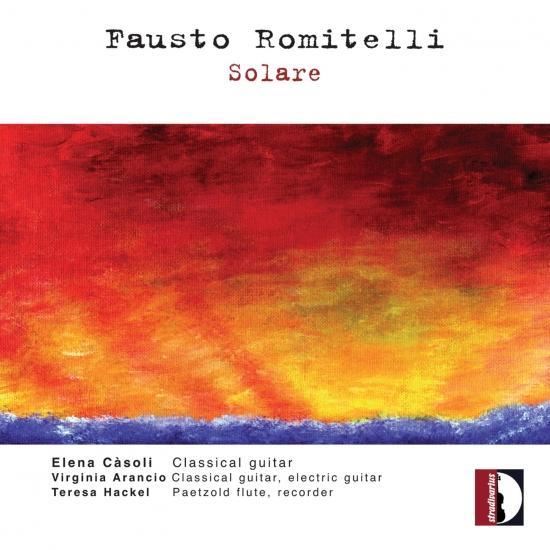 Cover Fausto Romitelli: Solare