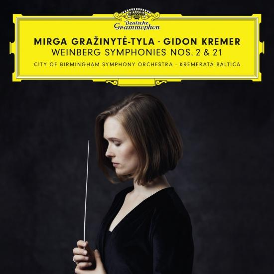 Cover Weinberg: Symphonies Nos. 2 & 21