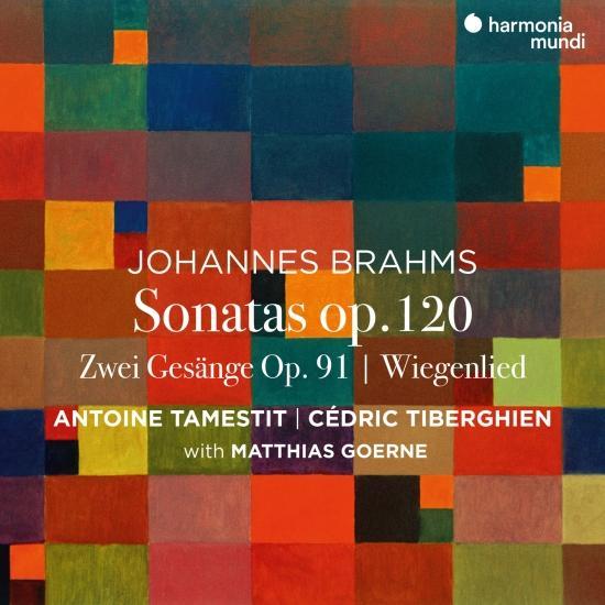 Cover Brahms: Viola Sonatas, Op. 120 - Zwei Gesänge, Op. 91