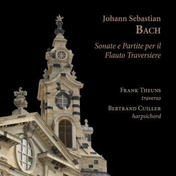 Cover Johann Sebastian Bach: Sonate e partite per il flauto traversiere