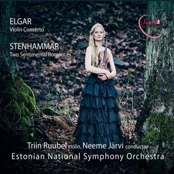 Cover Elgar: Violin Concerto - Stenhammar: 2 Sentimental Romances