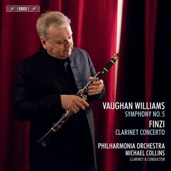 Cover Vaughan Williams: Symphony No. 5 in D Major - Finzi: Clarinet Concerto, Op. 31