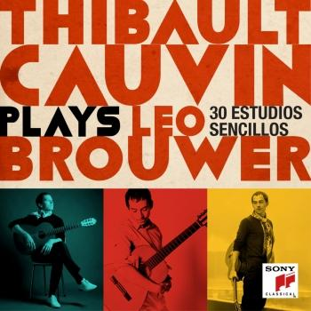 Cover Thibault Cauvin Plays Leo Brouwer