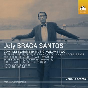 Cover Joly Braga Santos: Complete Chamber Music, Vol. 2