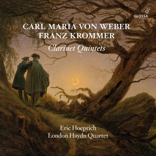 Cover Weber, Krommer & Baermann: Clarinet Quintets