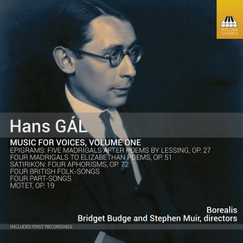 Cover Gál: Music for Voices, Vol. 1