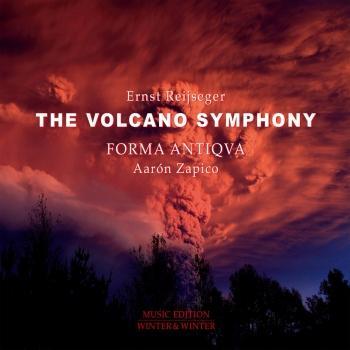 Cover Reijseger: The Volcano Symphony