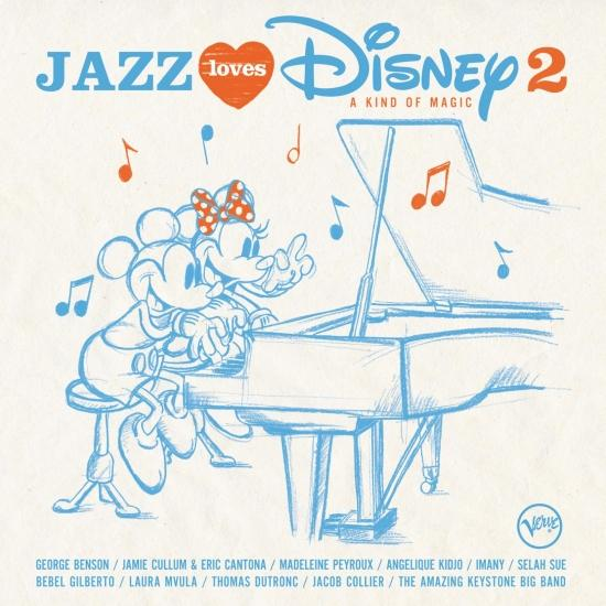 Cover Jazz Loves Disney 2 - A Kind Of Magic