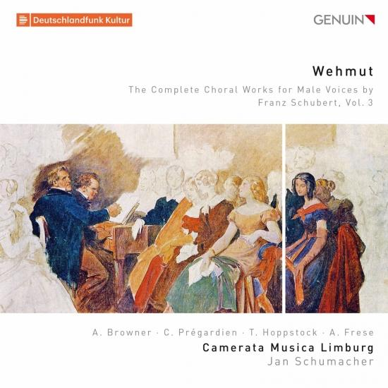 Cover Wehmut: The Complete Choral Works for Male Voices by Franz Schubert, Vol. 3