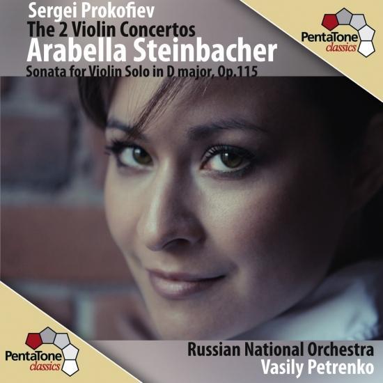 Cover Prokofiev: The 2 Violin Concertos