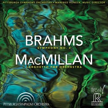 Cover Brahms: Symphony No. 4 in E Minor, Op. 98 - MacMillan: Larghetto for Orchestra (Live)