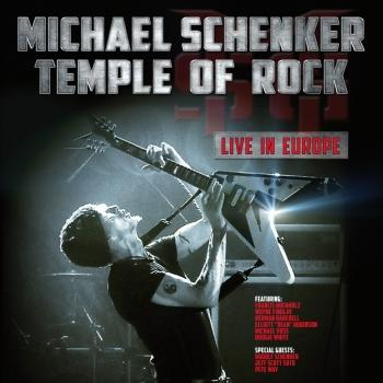 Cover Temple of Rock - Live in Europe