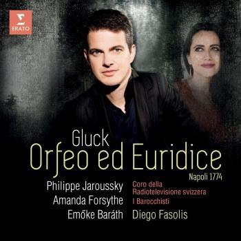 Cover Gluck: Orfeo ed Euridice