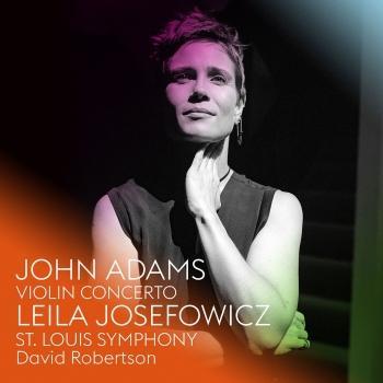 Cover John Adams: Violin Concerto
