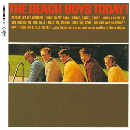 Cover The Beach Boys Today! (Stereo)