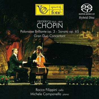 Cover Chopin: Polonaise Brillante op.3 / Sonata op.65 Gran Duo Concertant