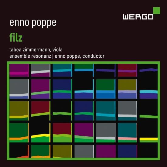 Cover Enno Poppe: Filz
