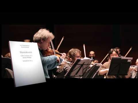 Video Shostakovich - Symphony No.5 & Cello Concerto by Xavier Phillips