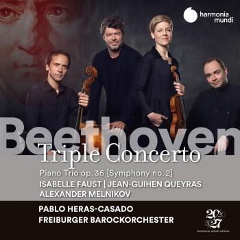 Cover Beethoven: Triple Concerto, Op. 56 & Trio, Op. 36