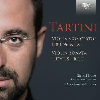 Cover Tartini: Violin Concertos D80, 96 & 125, Violin Sonata 'Devil's Thrill'