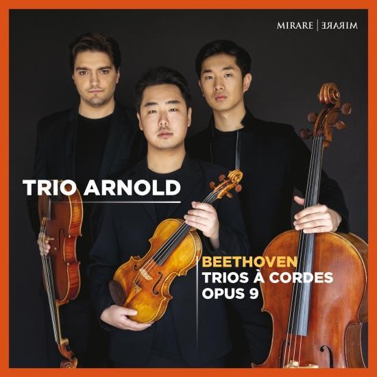 Cover Beethoven: Trios à cordes, Op. 9