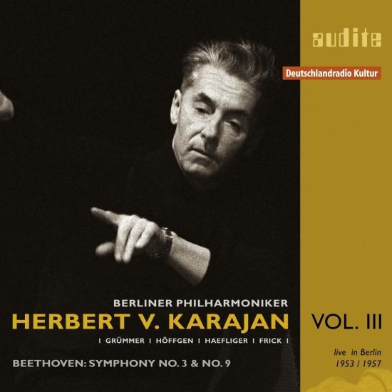Cover Edition Herbert von Karajan, Vol. III
