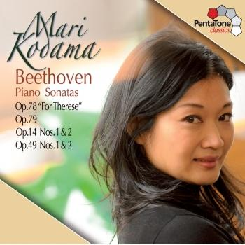 Cover Beethoven: Piano Sonatas Opp. 78, 79, 14, 49