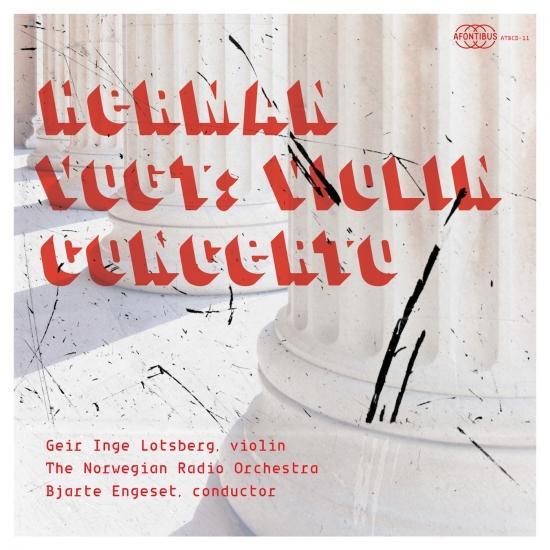 Cover Herman Vogt: Violin Concerto