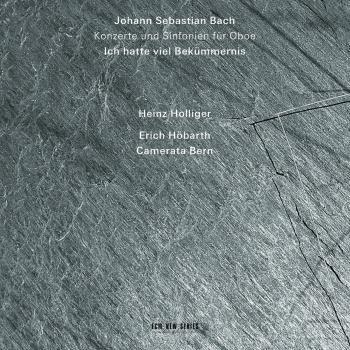 Cover Bach: Ich hatte viel Bekümmernis - Konzerte und Sinfonien für Oboe