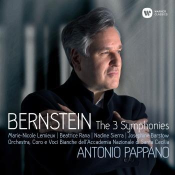 Cover Bernstein: Symphonies Nos 1-3, Prelude, Fugue & Riffs