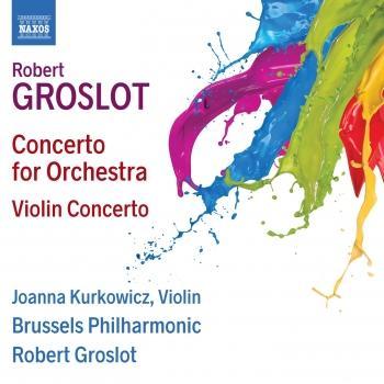 Cover Groslot: Concerto for Orchestra & Violin Concerto