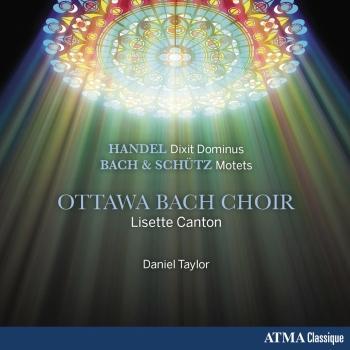 Cover Handel: Dixit Dominus, Bach & Schütz: Motets
