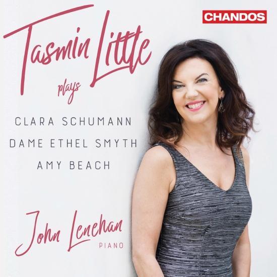 Cover C. Schumann, D. E. Smyth & A. Beach: Works for Violin & Piano