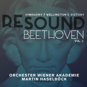 Cover Beethoven: Symphony 7 & Wellington's Victory (Resound Collection, Vol. 2)