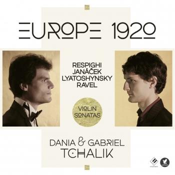 Cover Europe 1920: Violin Sonatas