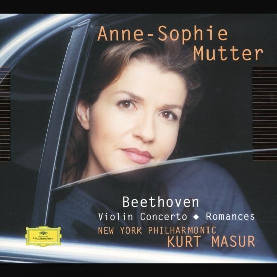 Cover Beethoven Violin Concerto Romances