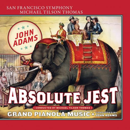Cover Adams: Absolute Jest - Grand Pianola Music
