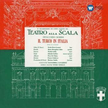 Cover Rossini: Il turco in Italia (1954 - Gavazzeni) - Callas Remastered