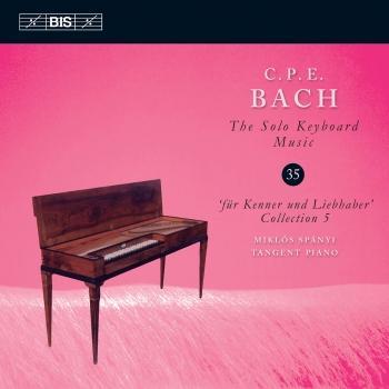 Cover C.P.E. Bach: The Solo Keyboard Music, Vol. 35