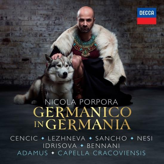 Cover Porpora: Germanico in Germania