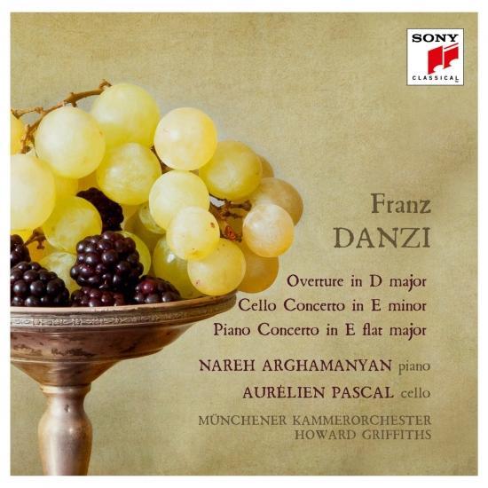 Cover Danzi: Ouverture, Cello Concerto & Piano Concerto